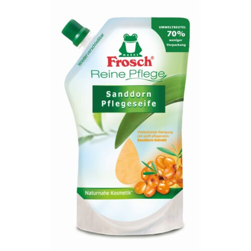 Packshot_Frosch_Handsoap_Sea_Buckthorn_500ml_D